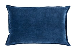 Accent Pillow-Beckley Solid Navy 13X20