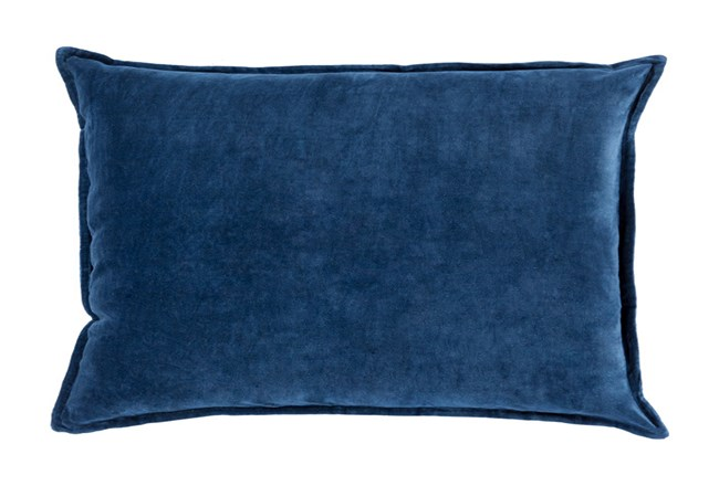 Accent Pillow-Beckley Solid Navy 13X20 - 360