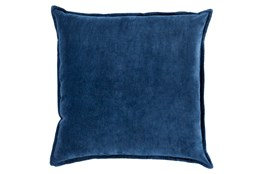 Accent Pillow-Beckley Solid Navy 18X18