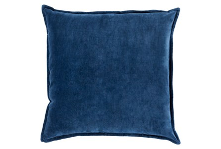 Accent Pillow-Beckley Solid Navy 18X18 - Main