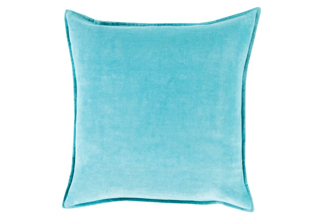 Accent Pillow-Beckley Solid Sky Blue 22X22 - 360