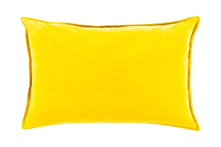 Accent Pillow-Beckley Solid Gold 13X19 - Main