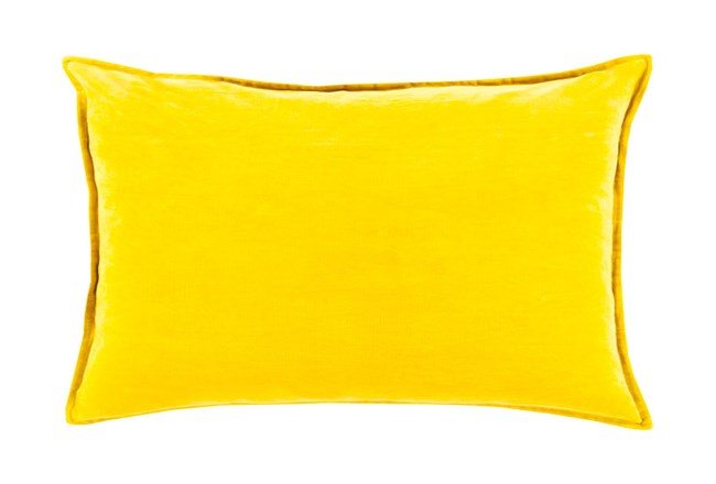 Accent Pillow-Beckley Solid Gold 13X19 - 360