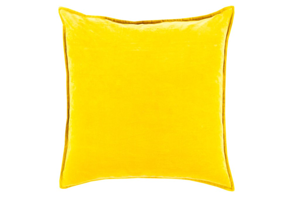 Accent Pillow-Beckley Solid Gold 22X22