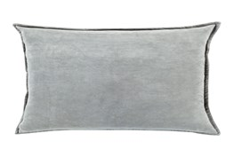 Accent Pillow-Beckley Solid Light Grey 13X19