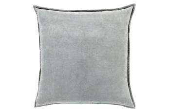 Accent Pillow-Beckley Solid Light Grey 22X22