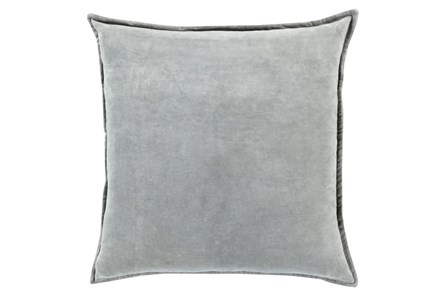 Accent Pillow-Beckley Solid Light Grey 22X22 - Main