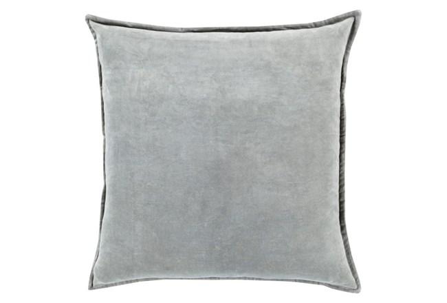 Accent Pillow-Beckley Solid Light Grey 22X22 - 360