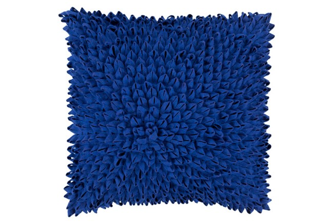 Accent Pillow-Daisy Cobalt 20X20 - 360