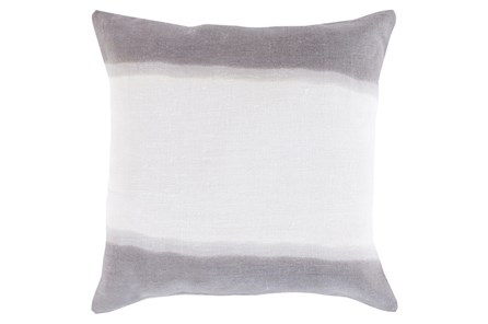 Accent Pillow-Dual Dyed Grey 18X18