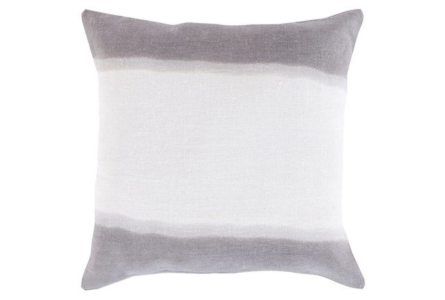 Accent Pillow-Dual Dyed Grey 18X18 - 360