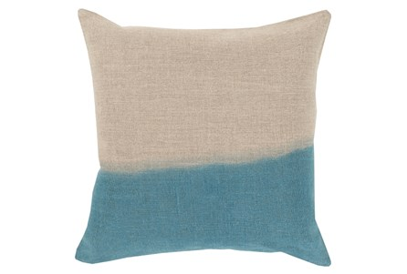 Accent Pillow-Half Dyed Teal 18X18