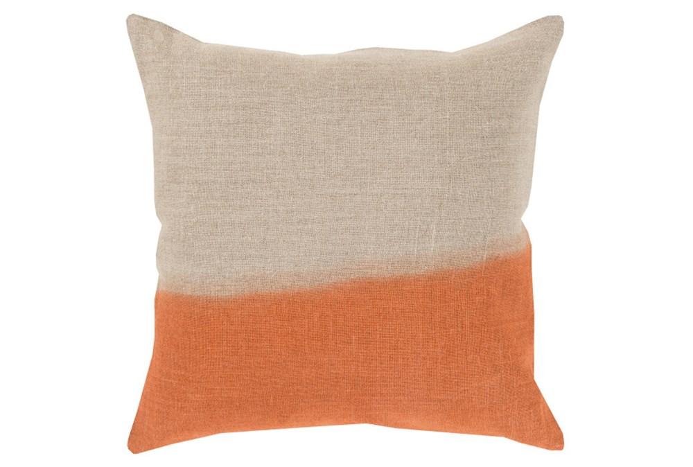 Accent Pillow-Half Dyed Orange 18X18
