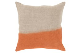 Accent Pillow-Half Dyed Orange 18X18