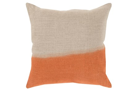 Accent Pillow-Half Dyed Orange 20X20 - Main