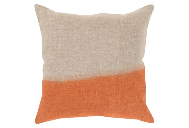 Accent Pillow-Half Dyed Orange 20X20 - 360
