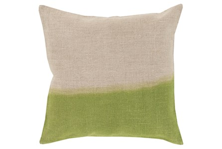 Accent Pillow-Half Dyed Lime 18X18