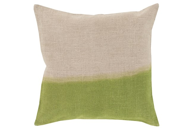 Accent Pillow-Half Dyed Lime 18X18 - 360