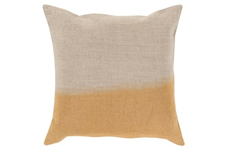 Accent Pillow-Half Dyed Gold 18X18