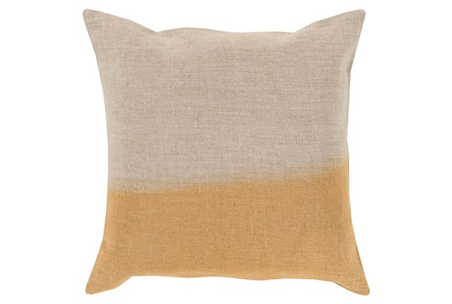 Accent Pillow-Half Dyed Gold 18X18 - 360