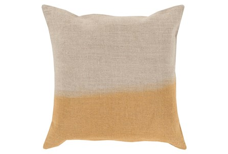 Accent Pillow-Half Dyed Gold 20X20