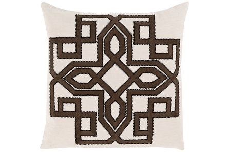 Accent Pillow-Nelson Black 20X20 - Main