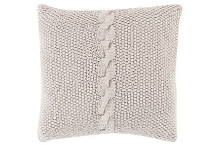 Accent Pillow-Serenity Grey 22X22 - Main