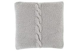 Accent Pillow-Serenity Medium Grey 18X18