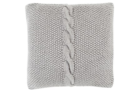 Accent Pillow-Serenity Medium Grey 18X18 - Main