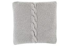 Accent Pillow-Serenity Medium Grey 22X22