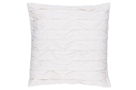 Accent Pillow-Desmine Ivory 22X22 - Main