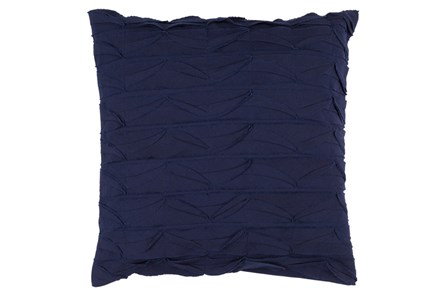 Accent Pillow-Desmine Navy 22X22 - Main