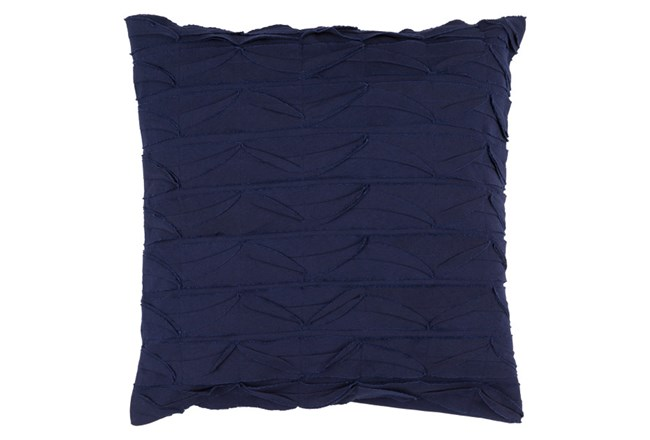 Accent Pillow-Desmine Navy 22X22 - 360
