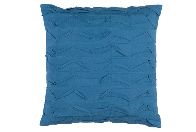 Accent Pillow-Desmine Teal 22X22 - 360