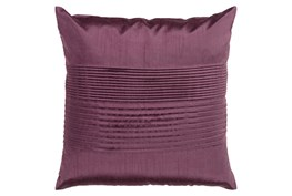 Accent Pillow-Coralline Eggplant 18X18