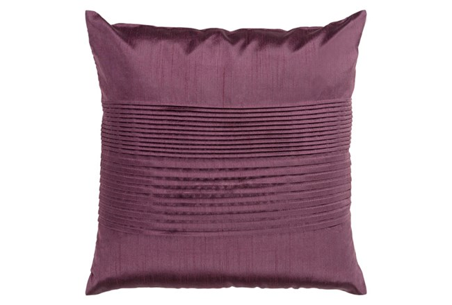 Accent Pillow-Coralline Eggplant 18X18 - 360