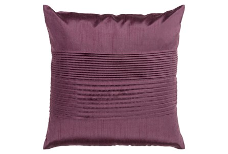 Accent Pillow-Coralline Eggplant 22X22