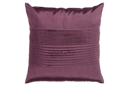 Accent Pillow-Coralline Eggplant 22X22 - Main