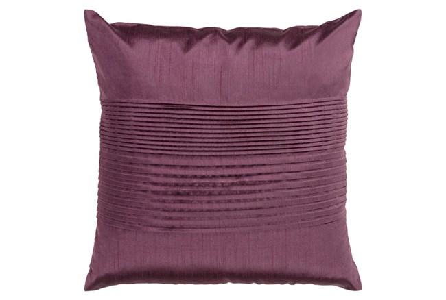 Accent Pillow-Coralline Eggplant 22X22 - 360