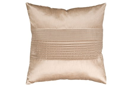 Accent Pillow-Coralline Khaki 22X22 - Main
