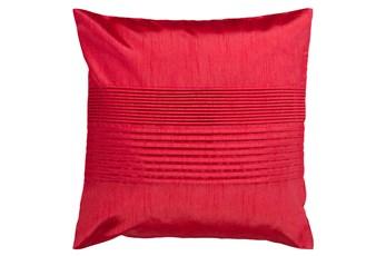 Accent Pillow-Coralline Cherry 22X22