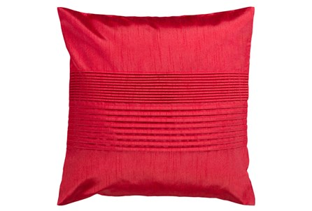 Accent Pillow-Coralline Cherry 22X22