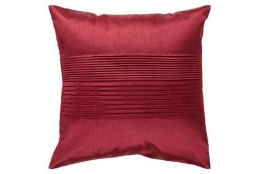 Accent Pillow-Coralline Burgundy 22X22