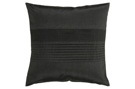Accent Pillow-Coralline Black 18X18 - Main