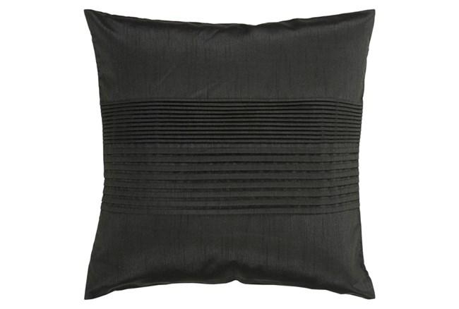 Accent Pillow-Coralline Black 22X22 - 360