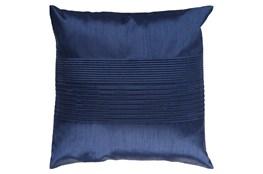 Accent Pillow-Coralline Cobalt 22X22
