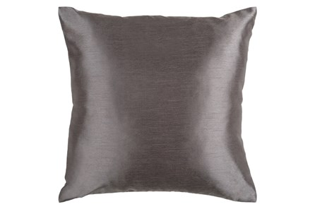 Accent Pillow-Cade Charcoal 22X22 - Main