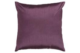 Accent Pillow-Cade Eggplant 22X22