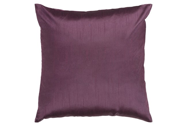 Accent Pillow-Cade Eggplant 22X22 - 360
