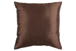 Accent Pillow-Cade Chocolate 22X22
